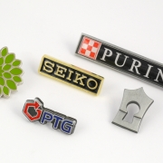 Advertising pins