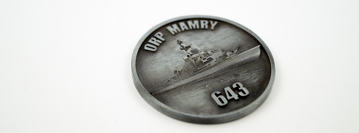 Custom made commemorative medal
