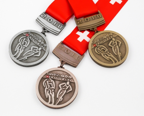 Two-piece sports medals – unique solution by MCC Metal Casts