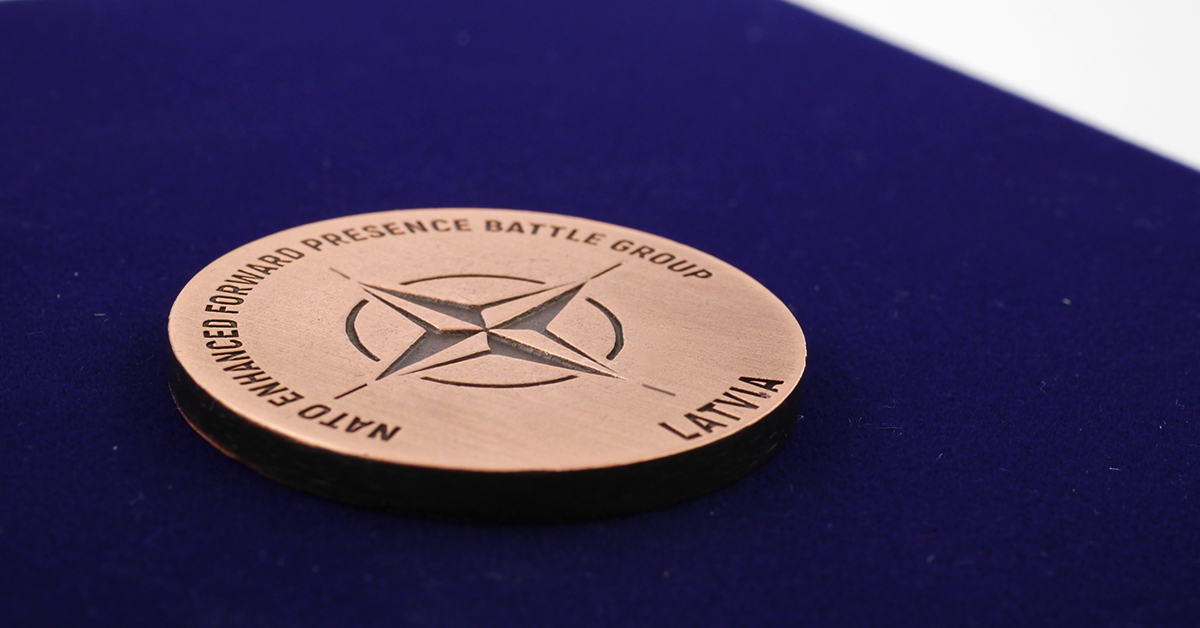 2D medal casted by MCC Metal Casts