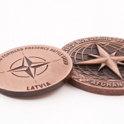 2D and 3D medals casted by MCC Metal Casts