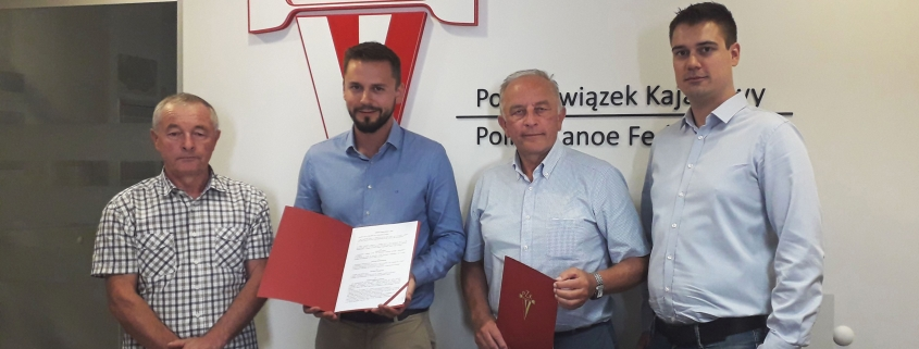 MCC Medale becomes the official supplier of Polish Canoe Federation