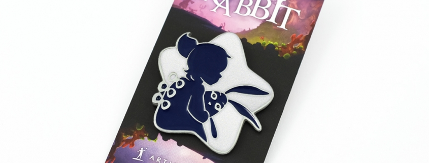 My Brother Rabbit - Pins on card