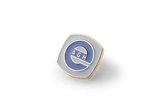 e-AGH enamel pin